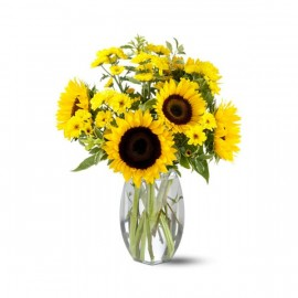 Bouquet de tournesols